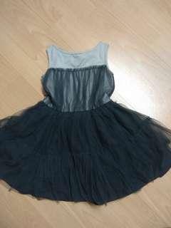 Girls Grey Dress