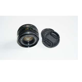 Helios Multi Coated 44M-6  58mm f2, m42 mount
