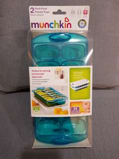 Munchkin 2 Fresh Food Freezer Trays