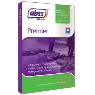 ABSS / MYOB Premier (Single User) for Windows Singapore Version 20