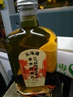 日本余市蒸餾所限定出品威士忌360mI連盒。
