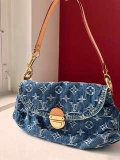 Louis Vuitton Denim Mini Pleaty