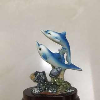 海豚擺飾 高7公分