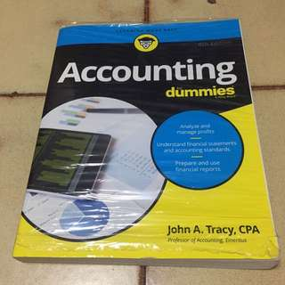 Accounting for dummies bk (brand new)