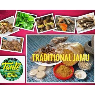 TRADITIONAL HOMEMADE JAMU - for after delivery / for womens health