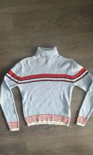 90s vintage turtleneck sweater