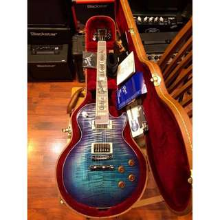 Gibson Les Paul Standard 2017 T Electric Guitar (blueberry burst)