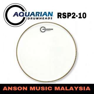 Aquarian RSP2-10 Response 2 Clear Drumhead, 10''