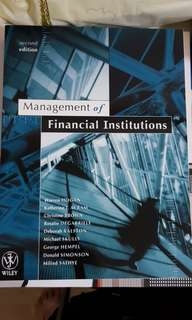 *BRAND NEW* Murdoch Textbook - Management of Financial Institutions