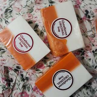 Take all ! 😍 3 pcs Glutathione Soap Original (2in1 with Kojic)