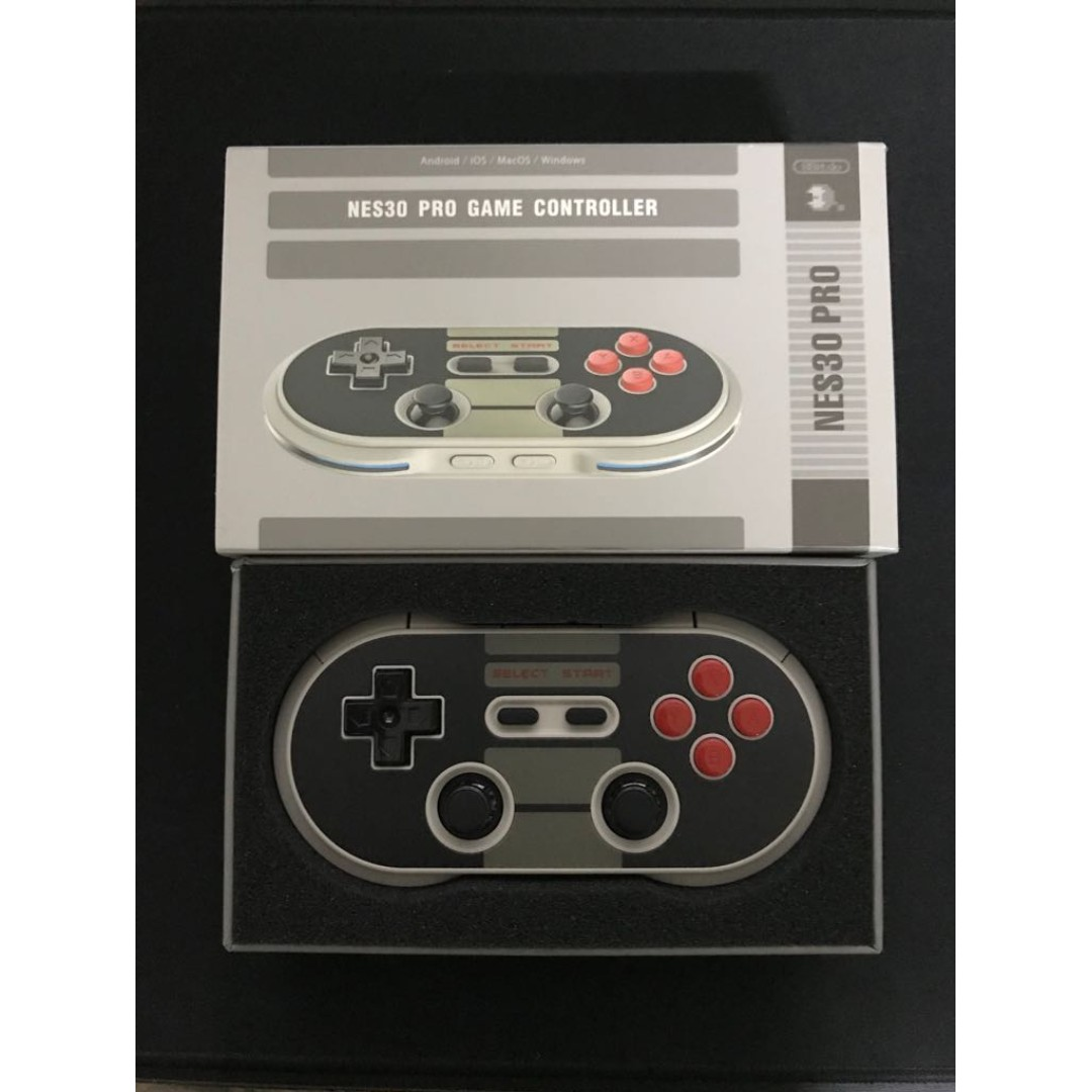 8bitdo Nes30 Pro Controller Toys Games Video Gaming Retro Bluetooth For Switch Ios Android Pc Mac Photo