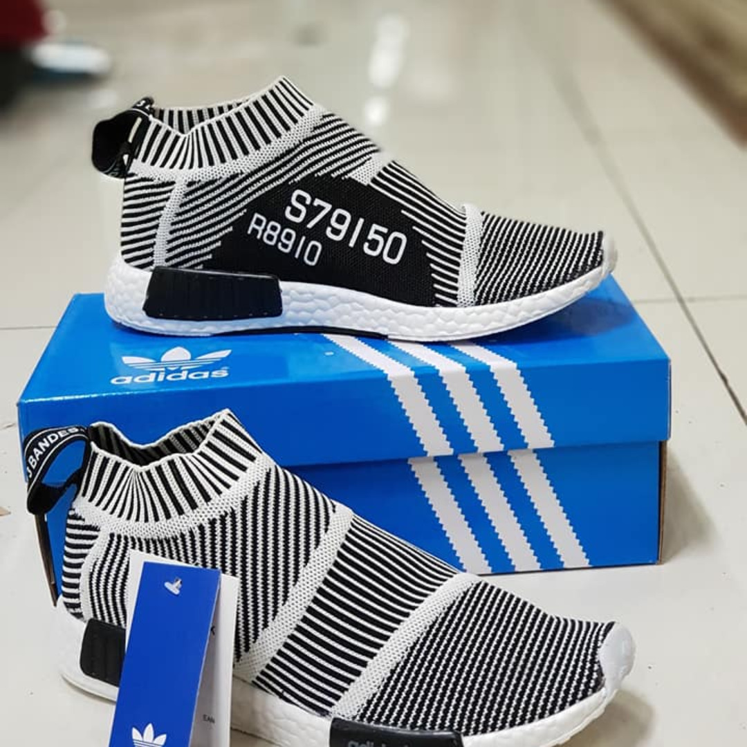 separation shoes 48ff1 4540f ADIDAS CITY SOCK S79150 BLACKSTRIPE SEMIREPLICA on Carousell