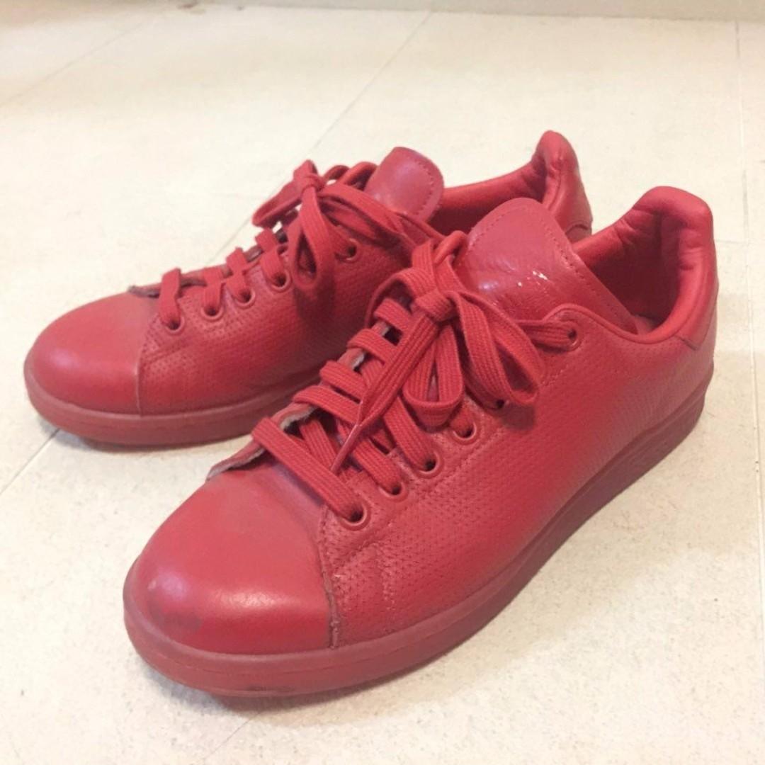 adidas Originals Stan Super Colour Scarlet Red Trainers
