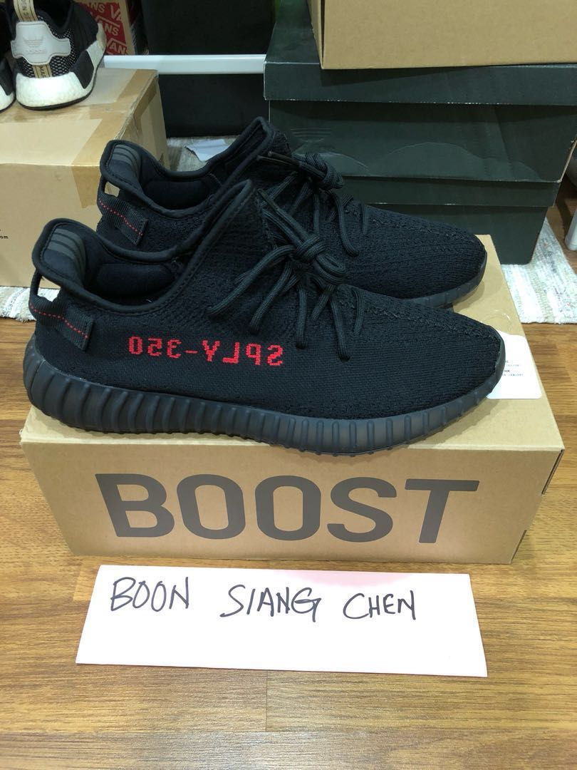 low cost 4e9ac 681cf Adidas Yeezy Boost 350 V2 Bred