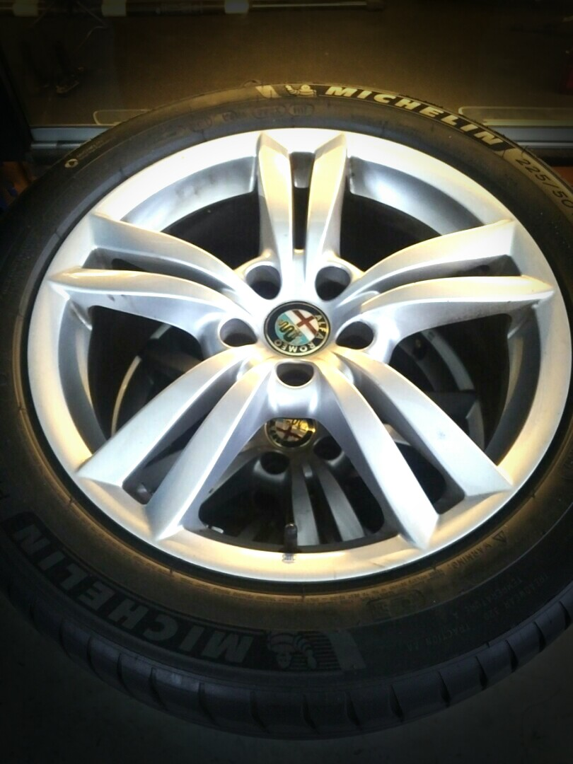 Alfa Romeo 159 17 Rims W Ps4 Tyres Car Accessories On Carousell