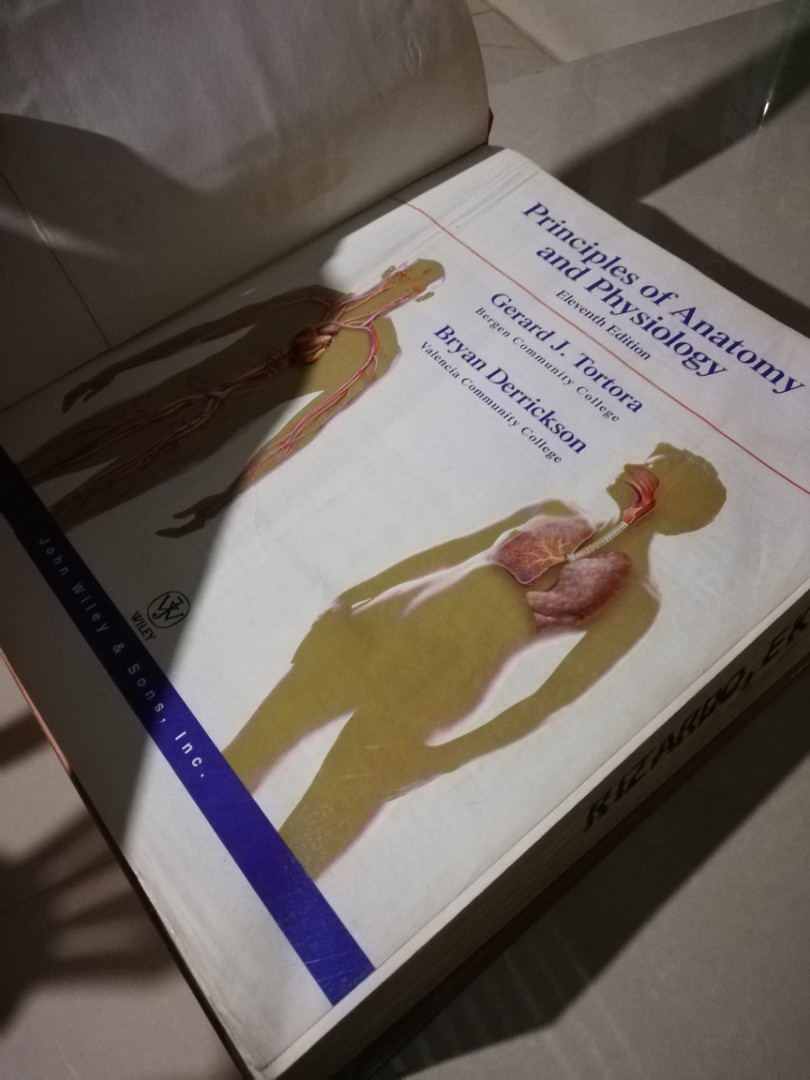 ANATOMY & Physiology By Tortora and Derrickson, Books, Books on ...