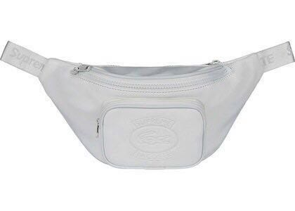 4aca1acf3fde Authentic Supreme x Lacoste Waist Bag White