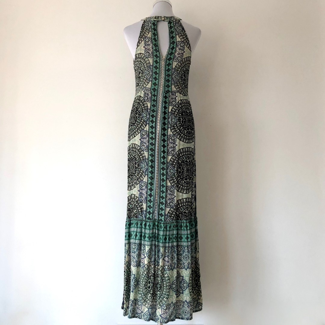 BIG W Printed Maxi Dress Size 12 - Brand New with Tags