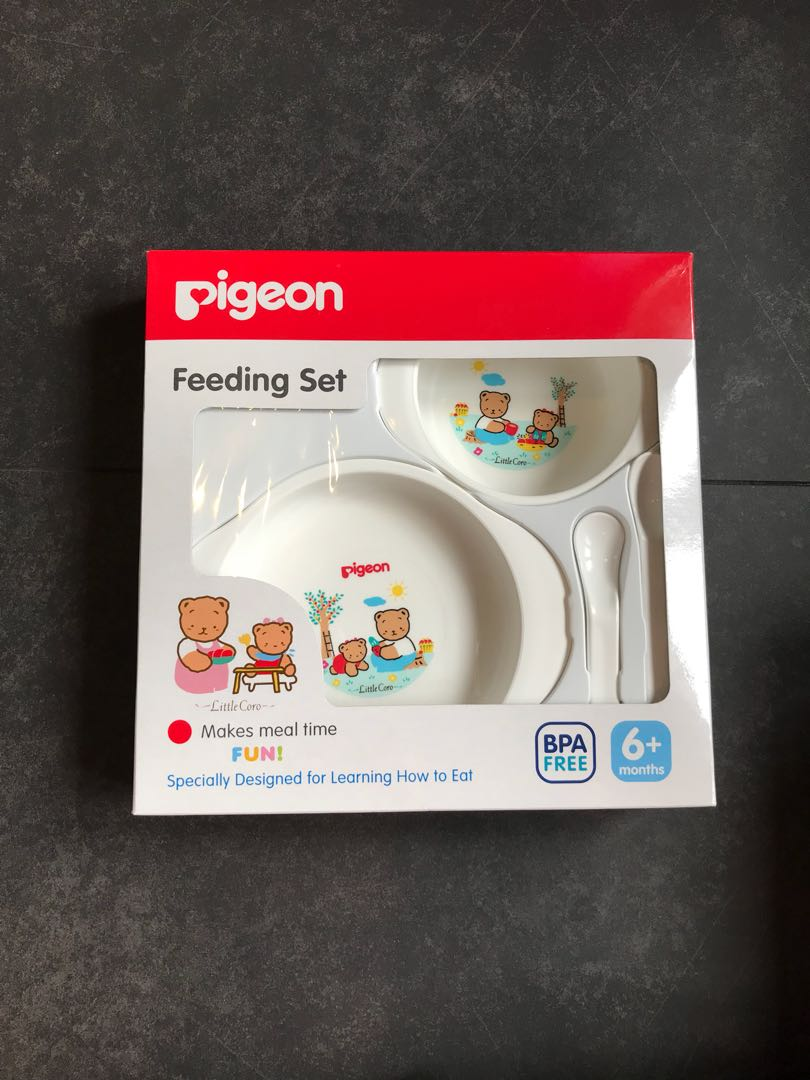 Pigeon Feeding Set Pigeon Feeding Set With Training Cup System Besar New Bn Babies Kids Nursing