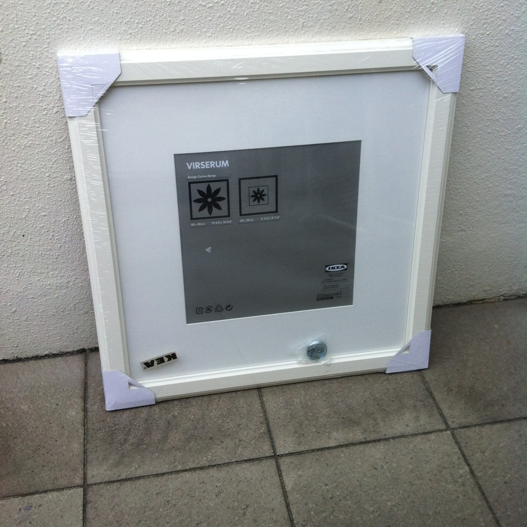 Brand new Ikea Virserum picture frame., Everything Else on Carousell