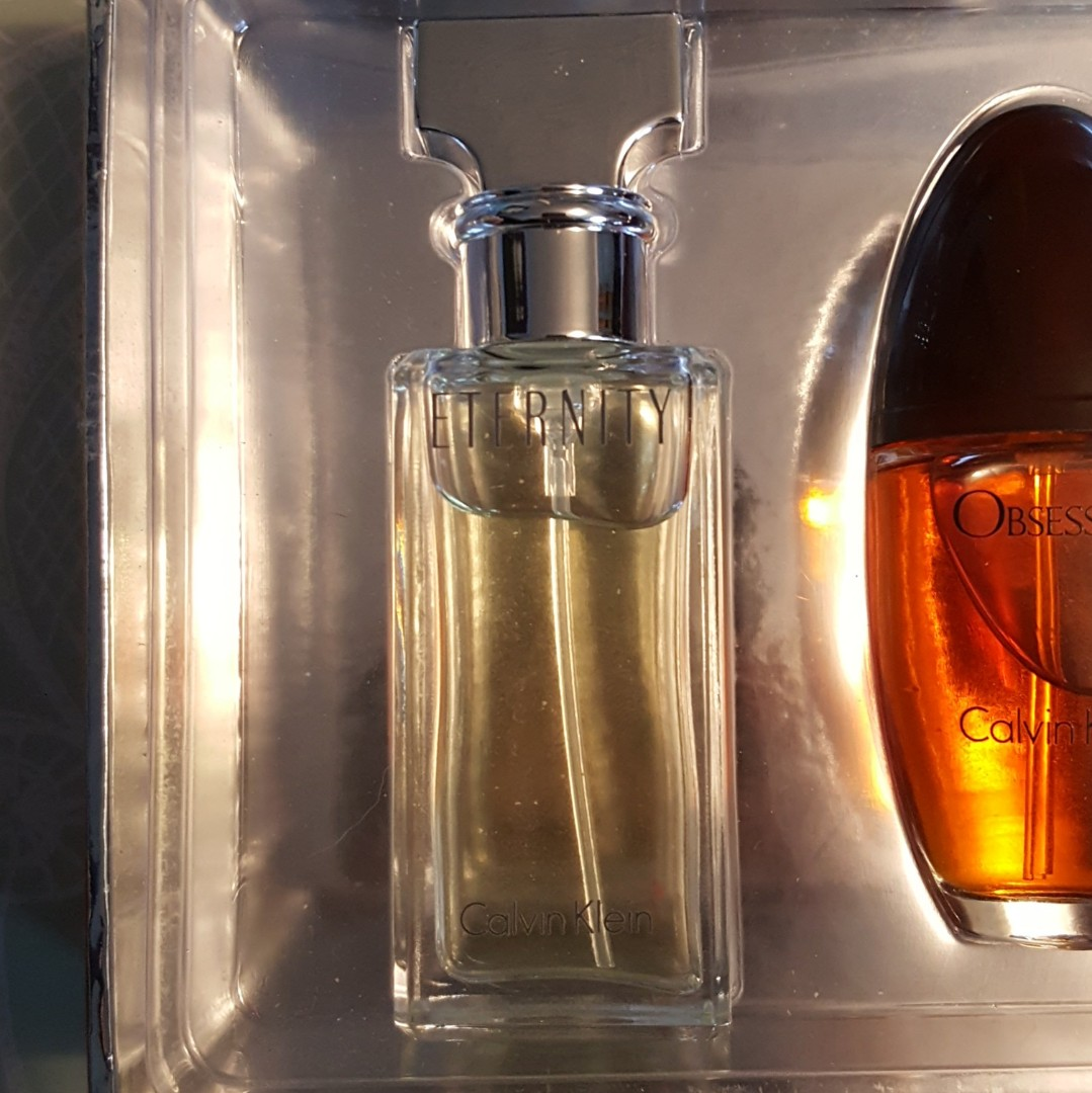 Calvin Klein perfume fragrance Eternity Obsession One Escape