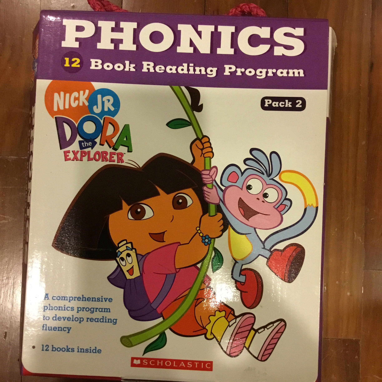 dora the explorer phonics readers set of 12 books books