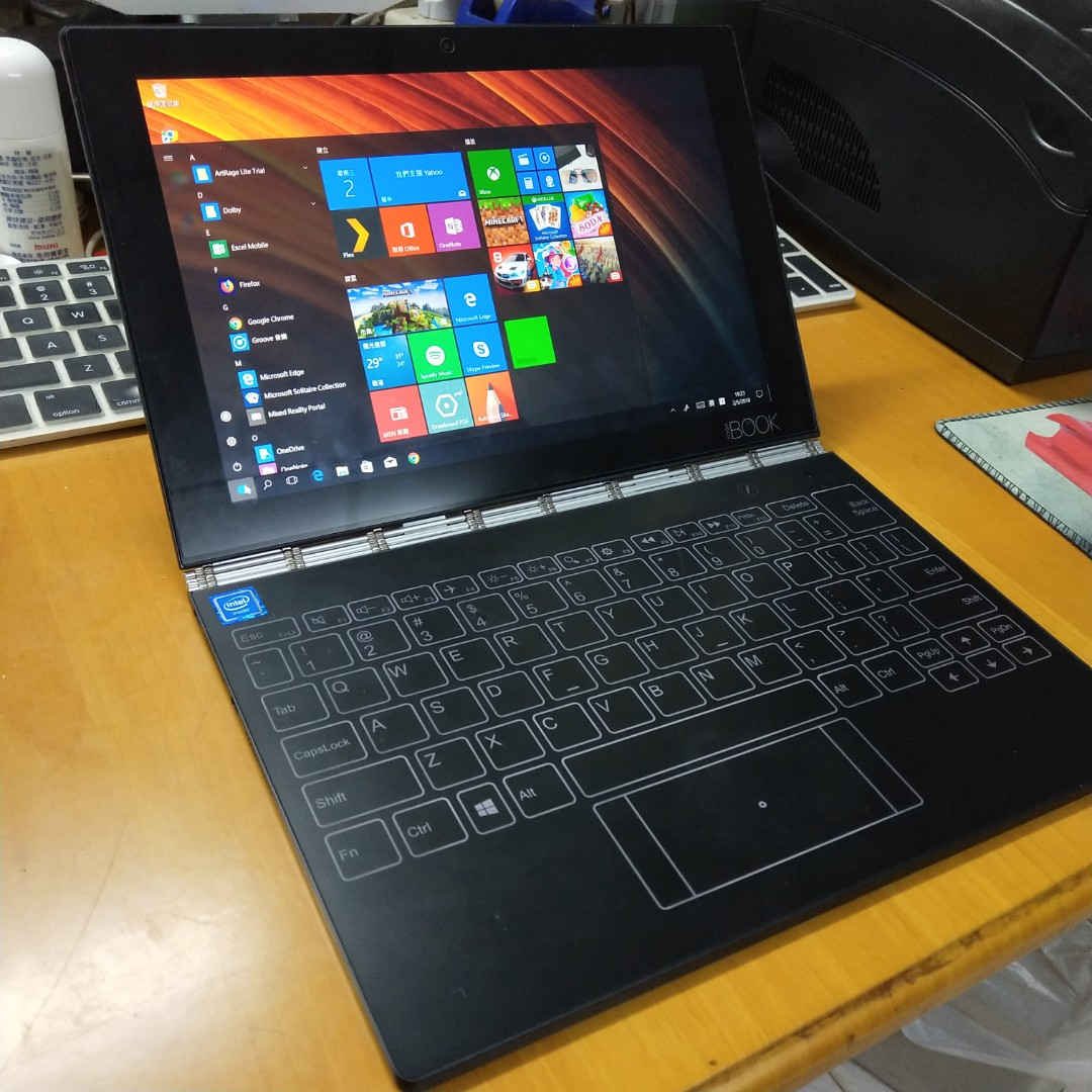 Lenovo Yoga Book Windows 10 Pro Wifi Electronics Computers Tablets On Carousell