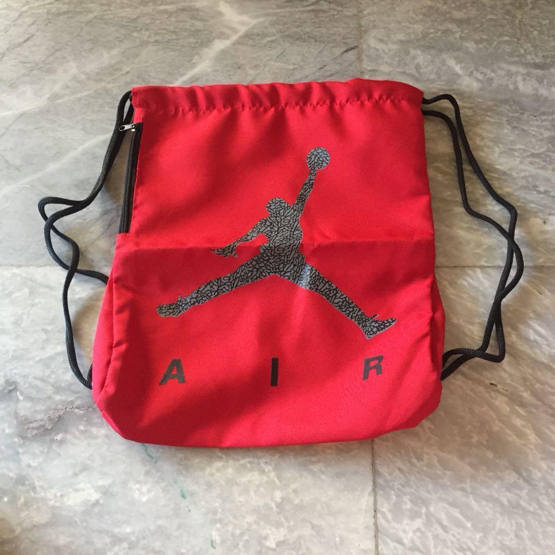 08ac7e859c Buy jordan drawstring bag   up to 54% Discounts