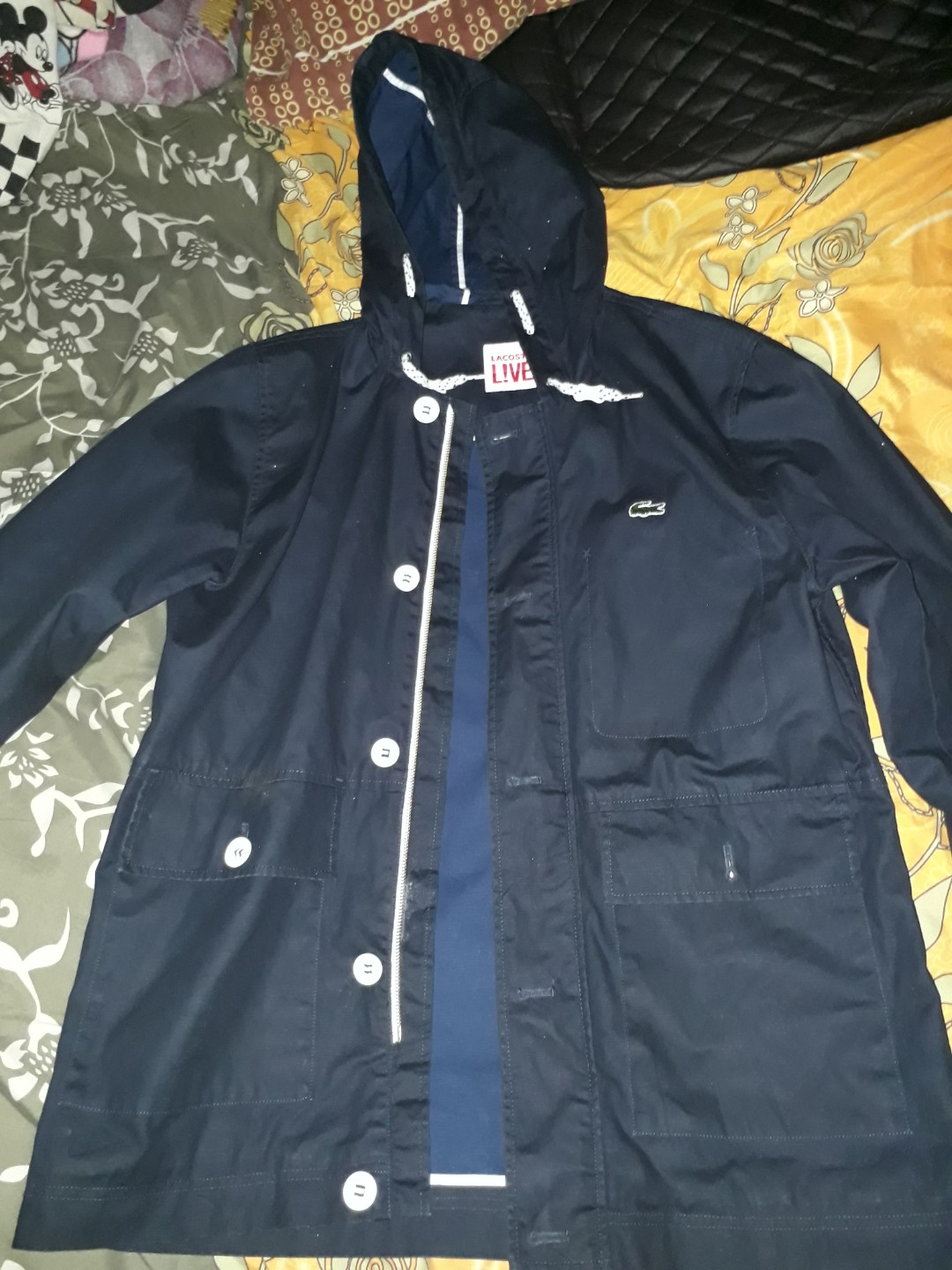 On LiveMen's FashionClothes Parka Lacoste Carousell 6bgyYf7