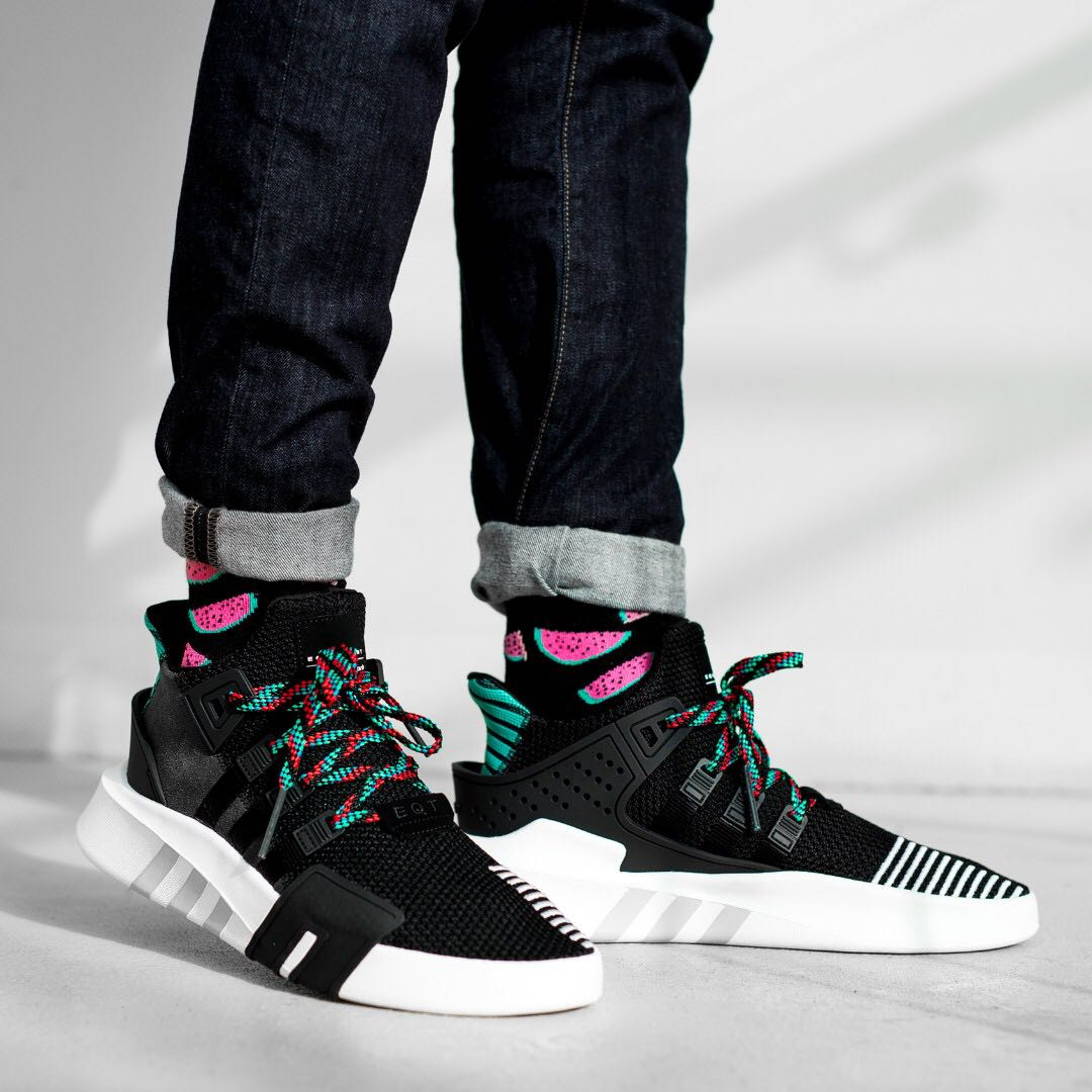0284a8e47487 PO) Adidas EQT Bask Adv Black