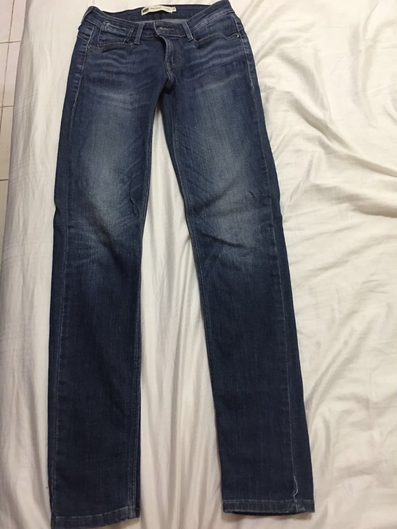 Preloved authentic Levi's mid rise skinny jeans