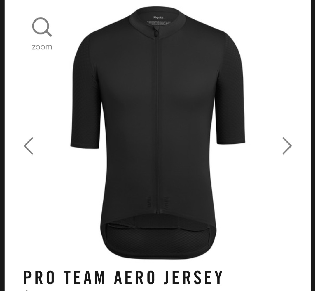 Rapha Aero Jersey L Size Black Sports Apparel On Carousell Baselayer Panjang Triple Big Xxxl