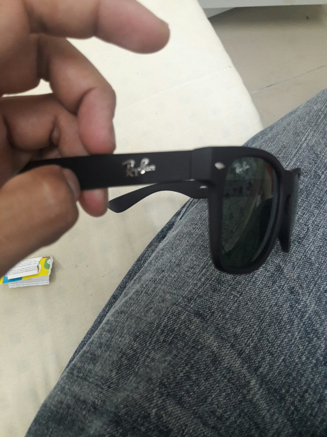 f10b195cc5 RAY.BAN MADE IN ITALY (JB8532), Men's Fashion, Accessories on Carousell