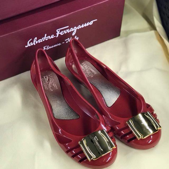 e39f0c55c07 Restock)Salvatore Ferragamo Bermuda Jelly Shoes