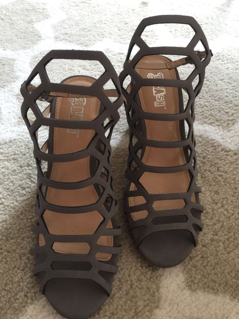 8564d5d49 SALE!!! SALE!!! SALE!!! Slightly Used Sexy Gray Heels ...