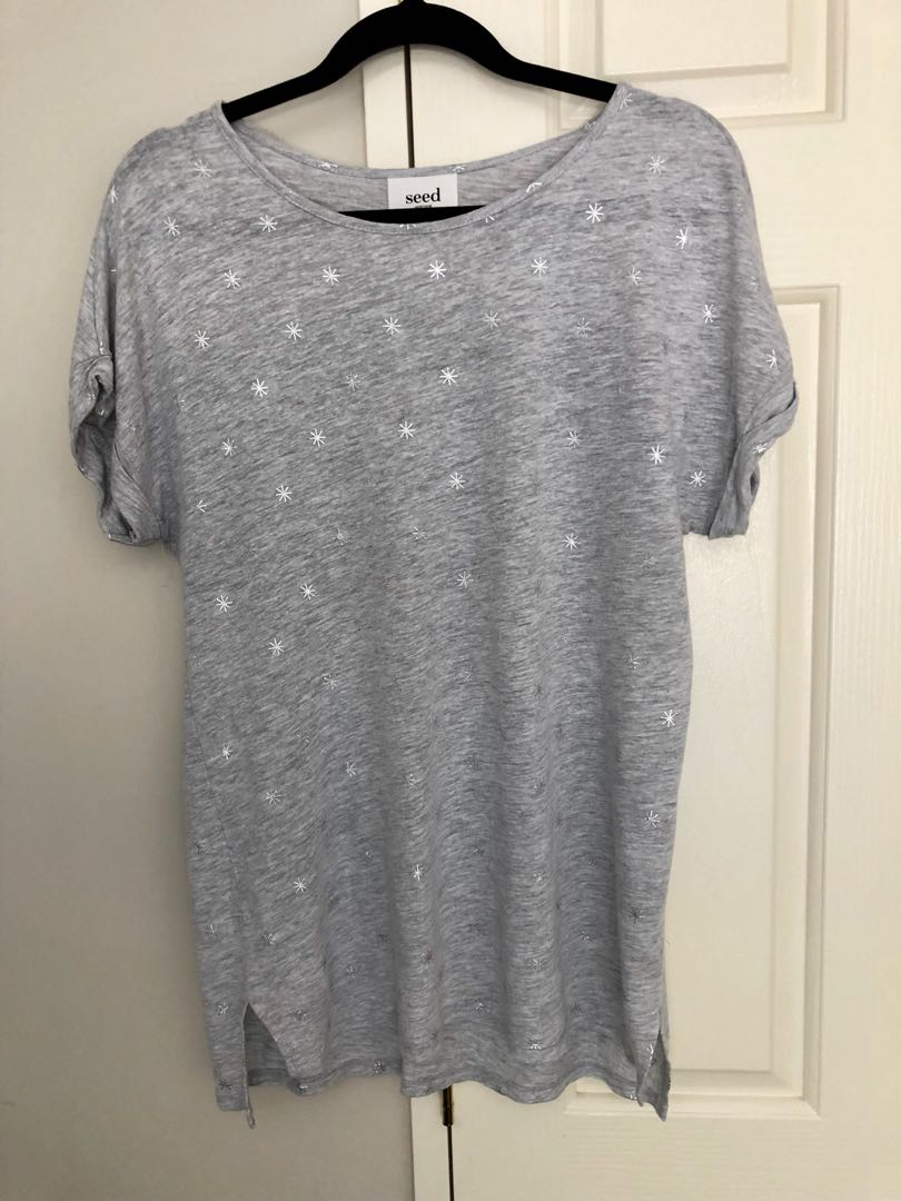 Seed heritage grey top