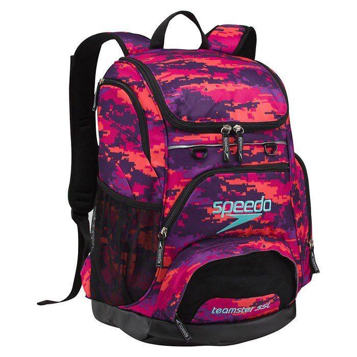 d1a19e8c2e021 Speedo Teamster rucksack 35L Digi Camo   Purple