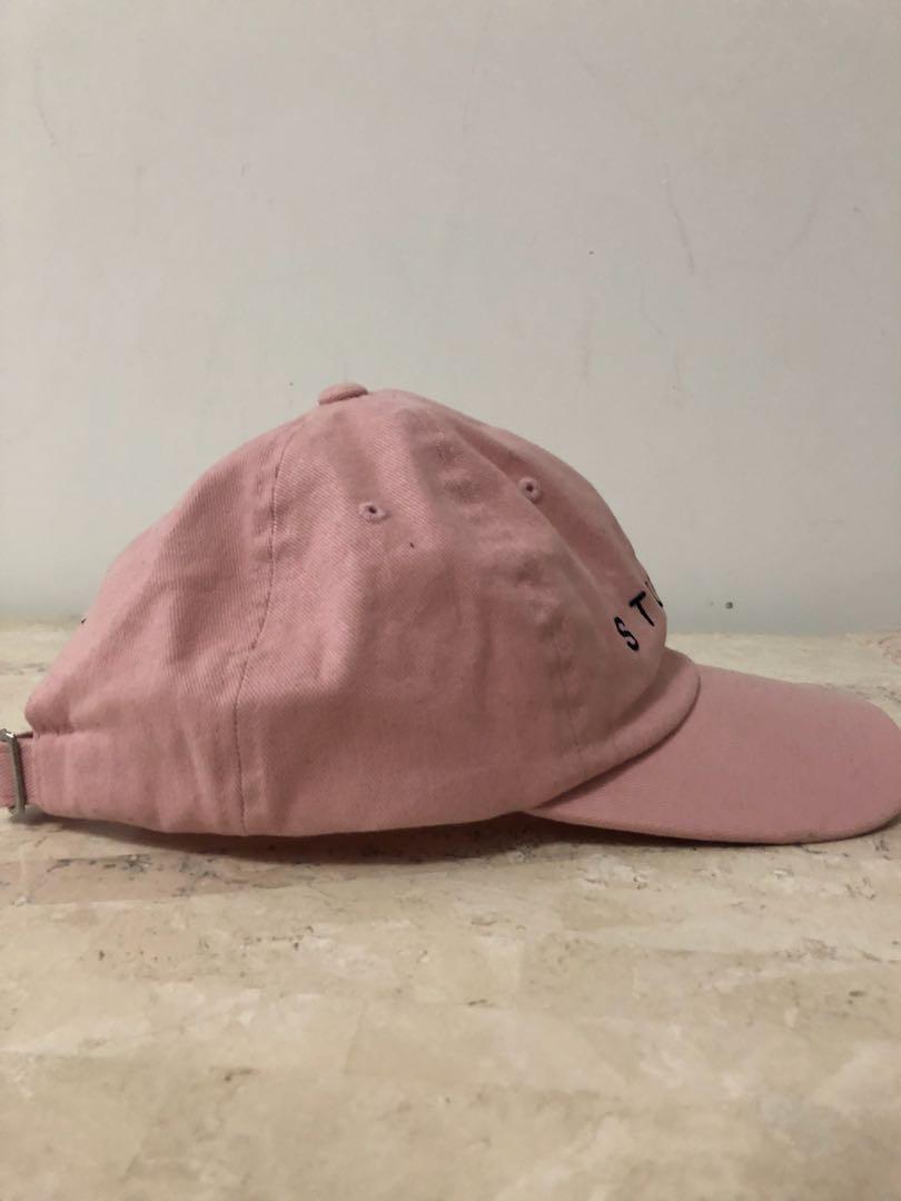 Stussy pink hat