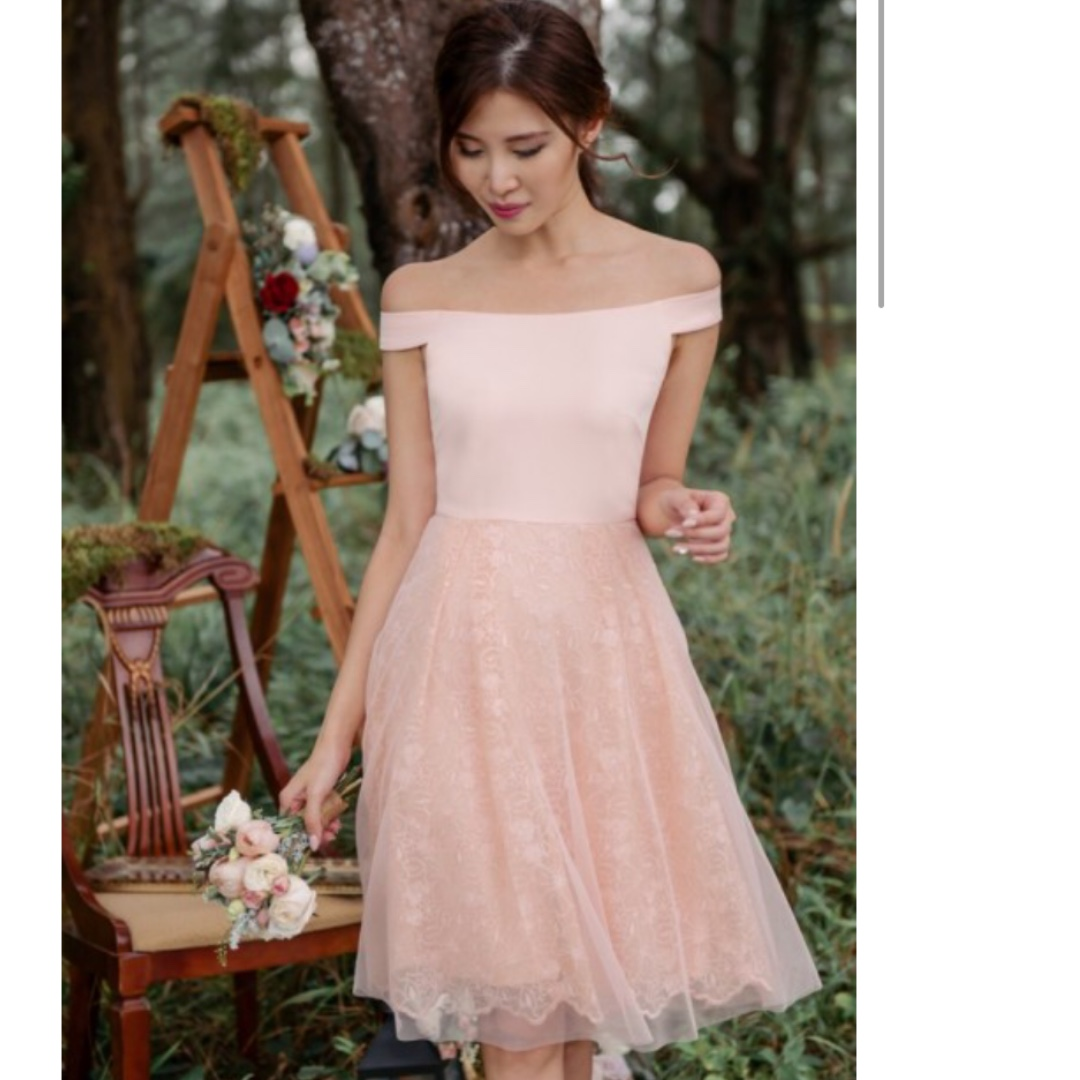 3a95a15209c2 BN Thread Theory Odette in Love Off-shoulder dress, Women's Fashion ...