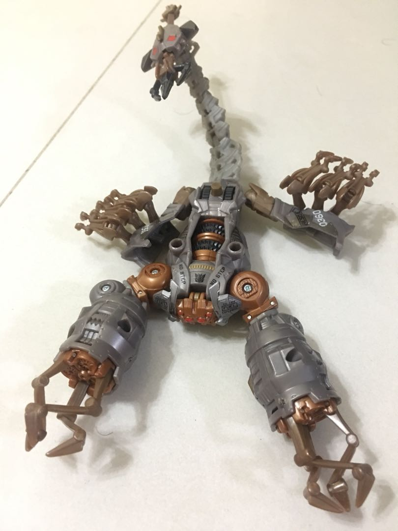 Transformers Scorpion Toy From 1st Movie Toys Games Bricks
