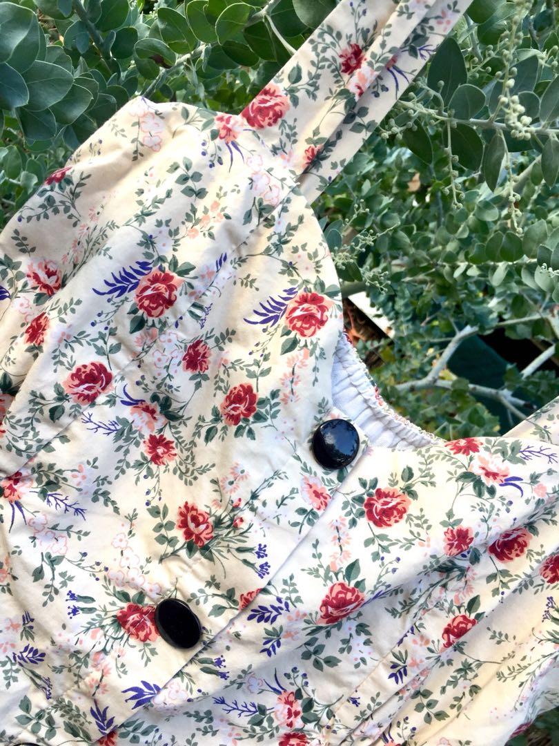Vintage Style Button-up Dress