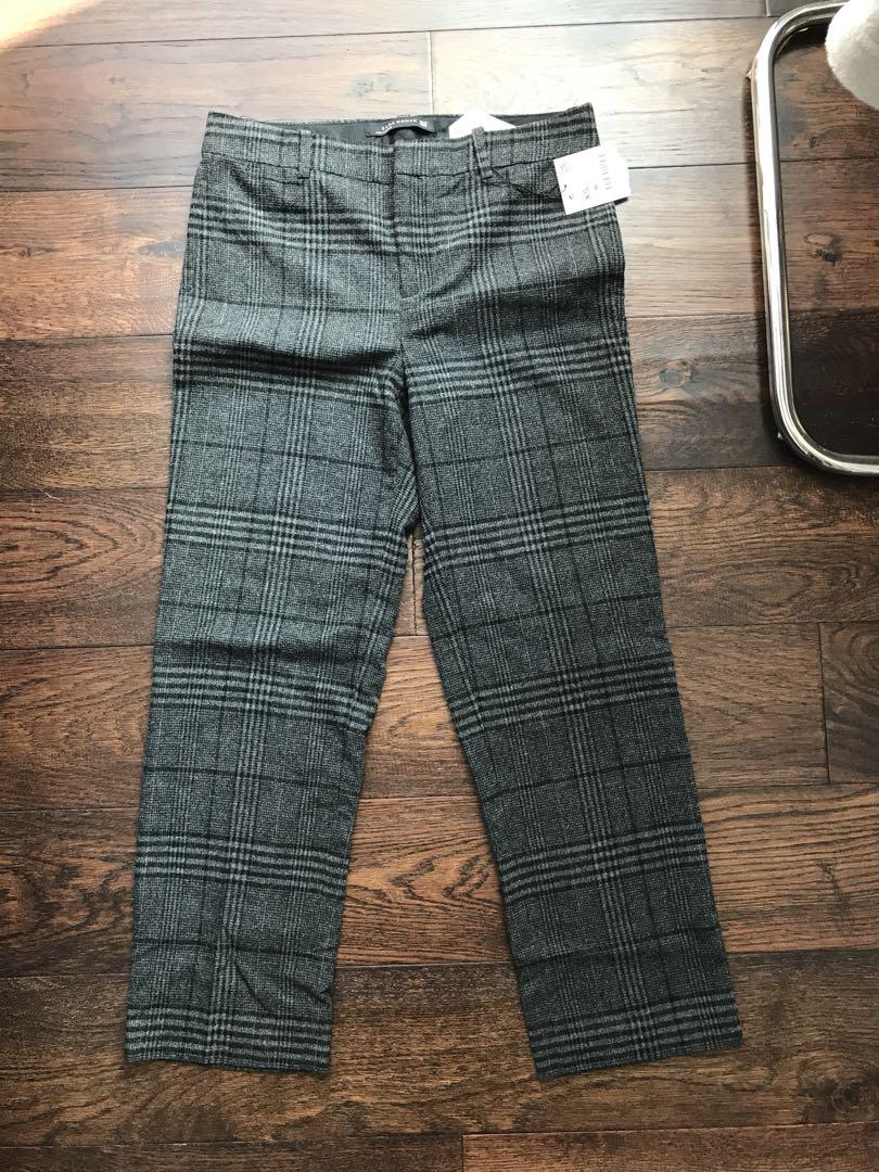 Zara plaid trousers