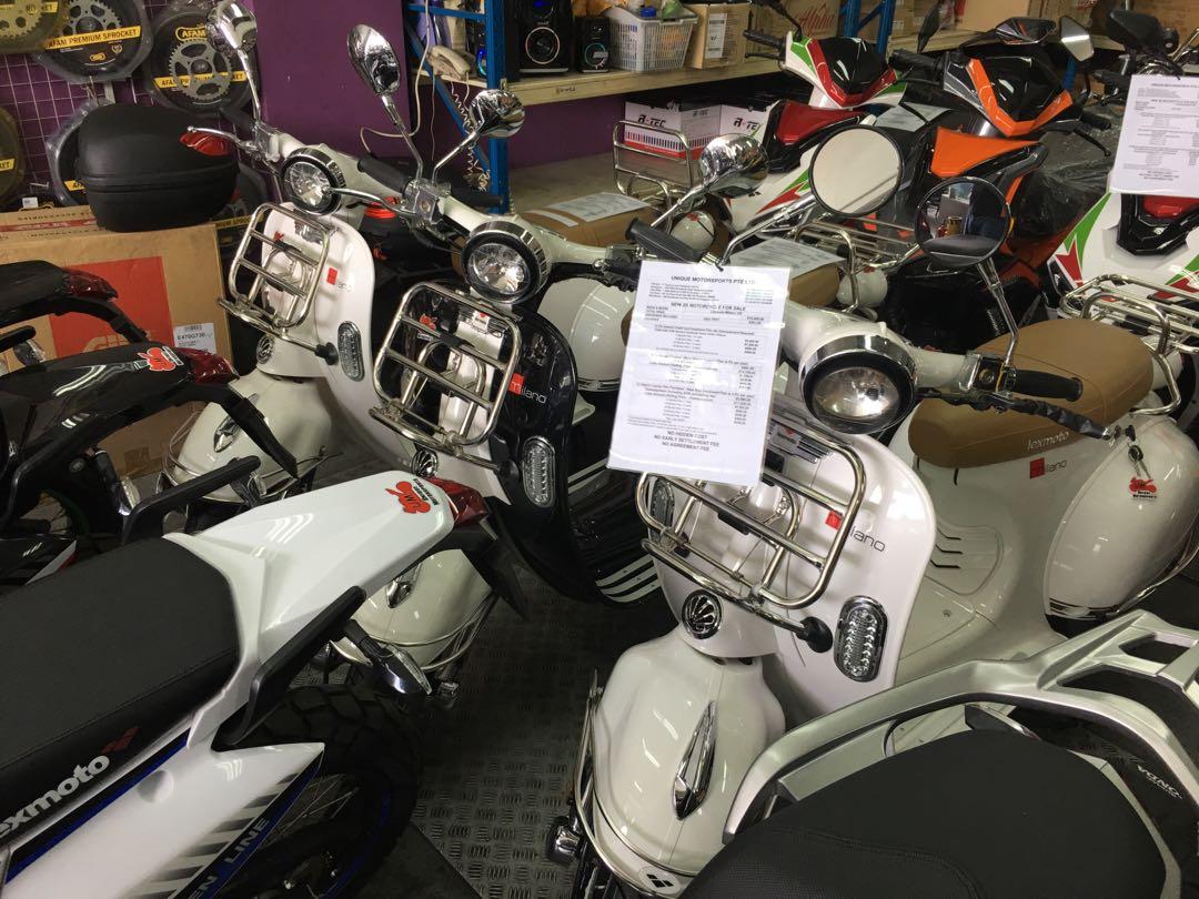Zero Downpayment For New Lexmoto Milano Motorbikes Motorbikes For