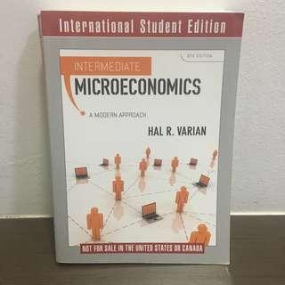 EC3101 Intermediate Microeconomics - Hal R. Varian 8th Ed