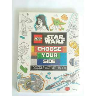 Lego Star Wars Doodle Activity Book