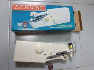 portable sewing machine with instructions