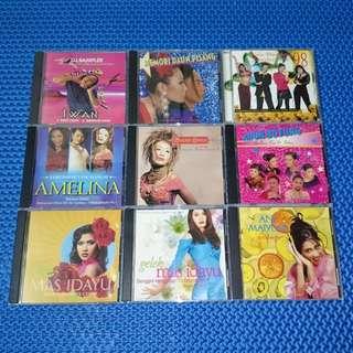 🆒 Assorted CD Single/E.P./Sampler Melayu Audio CD
