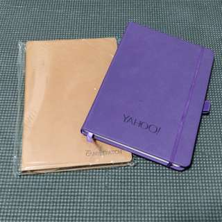 assorted hardcover lined a5 notebooks (: