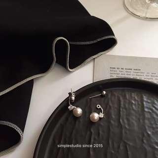 Multi-way Elegant Lady Ear Jacket Earrings/Studs with S925 Ear Posts