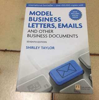 Model biz letters, emails and other biz docs